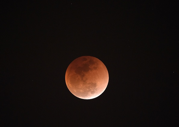 How long did this morning's lunar eclipse last?