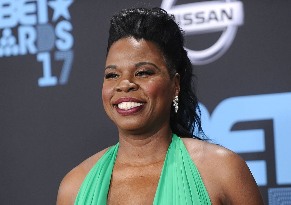 Leslie Jones will be covering the 2018 Winter Olympics, and we needed this