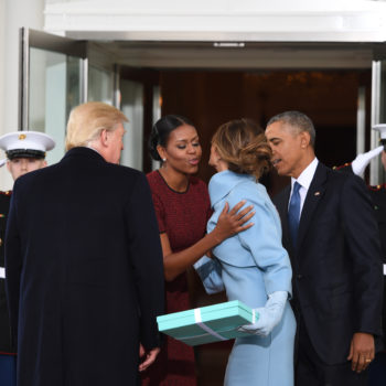 We finally know what was in the gift box Melania Trump gave to Michelle Obama on Inauguration Day