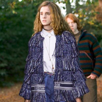 """This Instagram account photoshops Dior onto """"Harry Potter"""" characters, and it's like a high fashion Hogwarts"""