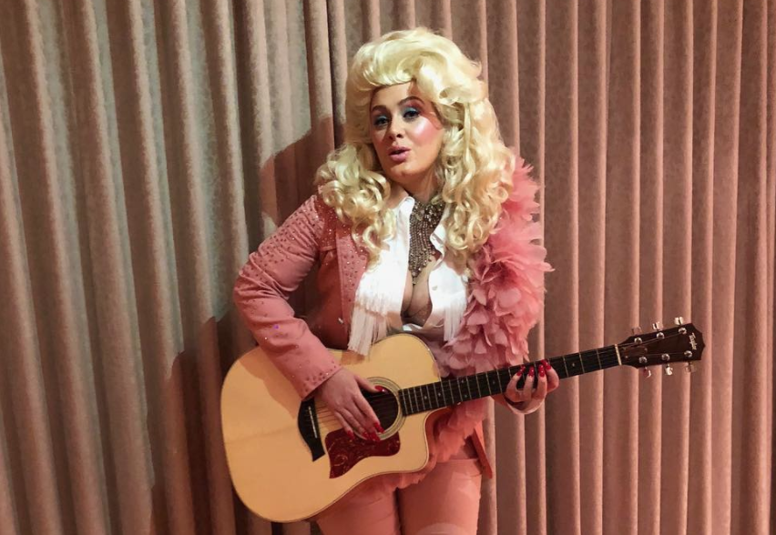 Dolly Parton is so excited that Adele dressed up as her, and this is right as rain