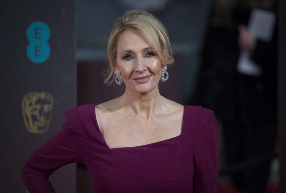 "J.K. Rowling is dealing with the ""Dumbledore is gay"" backlash by muting everyone on Twitter"