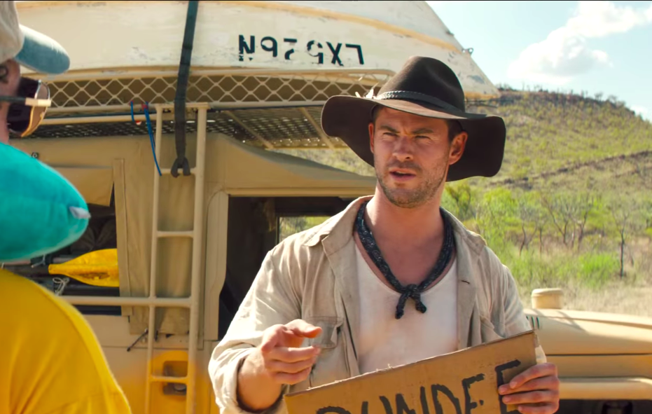 Internet Can T Figure Out If Chris Hemsworth S New Movie Is Real Or
