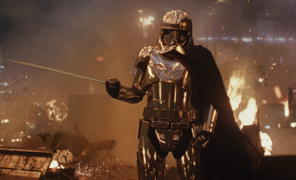 "Cool, now Gwendoline Christie is hinting that Captain Phasma might be alive in the next ""Star Wars"""