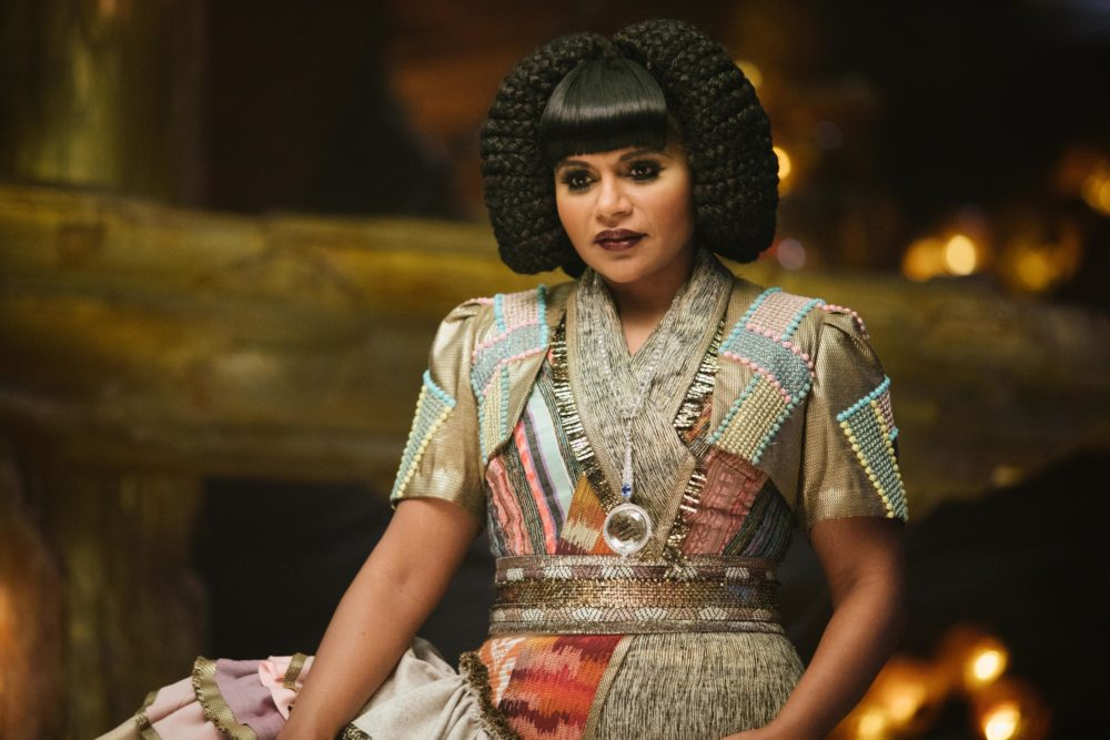 Get To Know Mrs Who Mindy Kalings A Wrinkle In Time Character