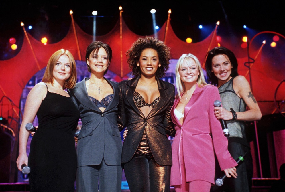 There was a full-on Spice Girls reunion, and Victoria Beckham shared the Insta pic to prove it