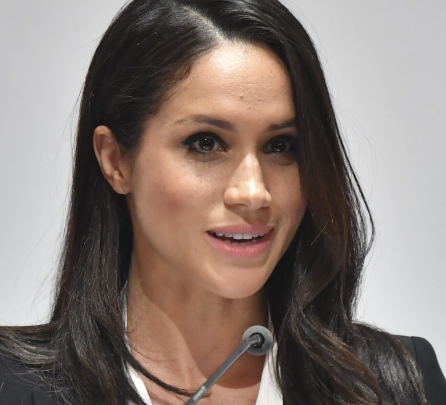 Meghan Markle gave her first royal speech in London, was a total pro