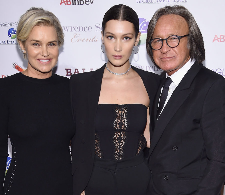 Bella and Gigi Hadid's dad Mohamed denies model's claims that he date raped her
