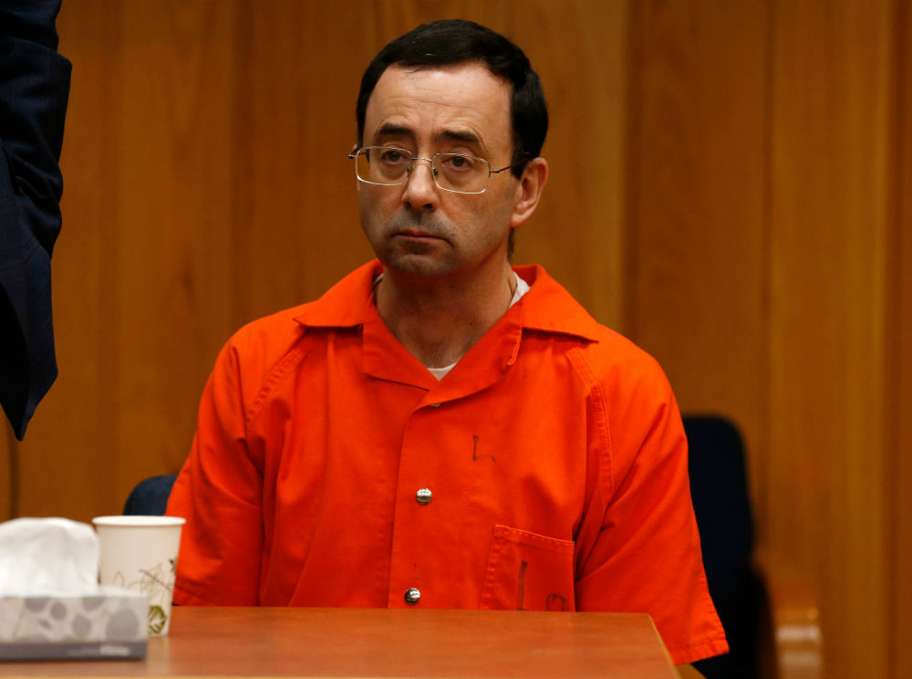 """Larry Nassar said he was """"sorry"""" during his final sentencing today, hero judge says she doesn't believe him"""