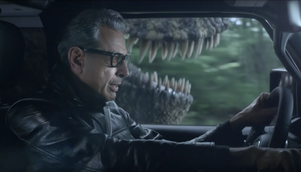 "The best ""Jurassic World"" trailer during the Super Bowl was actually the Jeff Goldblum ad for Jeep"