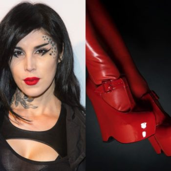 Kat Von D's drool-worthy vegan shoe line launches soon, and here are the juicy details