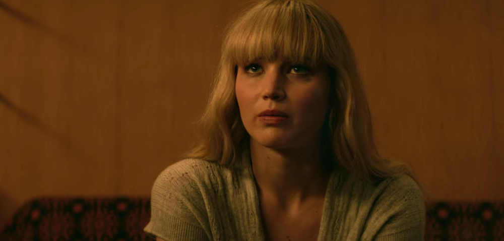 "The latest trailer for Jennifer Lawrence's ""Red Sparrow"" is seductive and secretive"