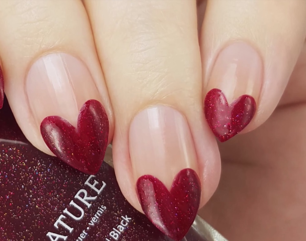 27 valentines day nail art designs on youtube you can do yourself 27 valentines day themed nail art designs on youtube that you can easily do yourself solutioingenieria Gallery