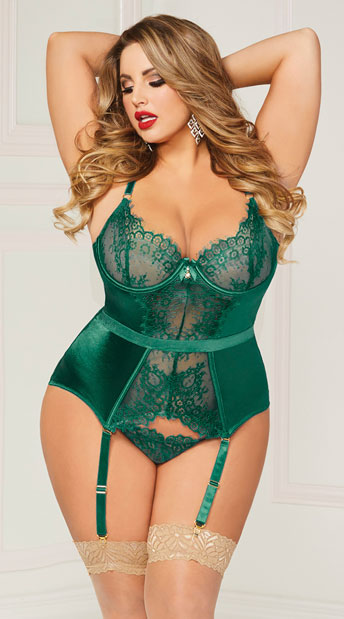Adventurous Plus Size Erotic Ladies Underwear