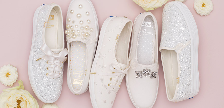 You're going to want these bridal sneakers even if you aren't getting married