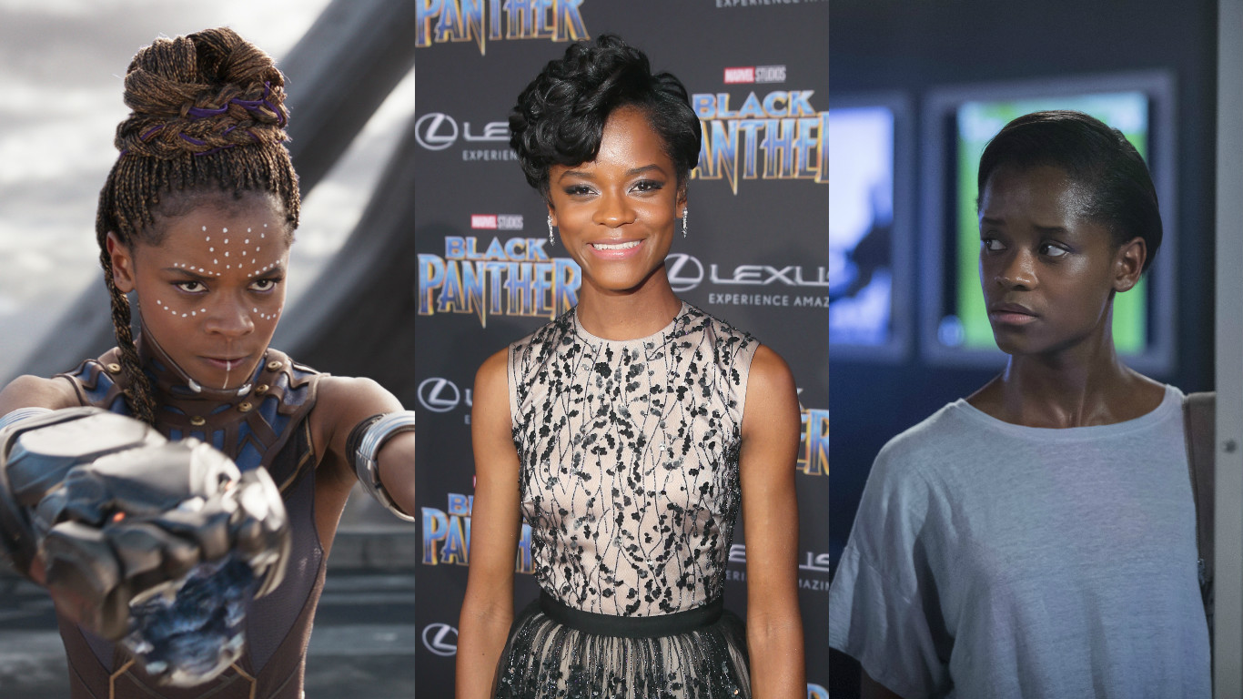 "Letitia Wright is the breakout, badass star of ""Black Panther"" and ""Black Mirror,"" and she needs to be on your radar"