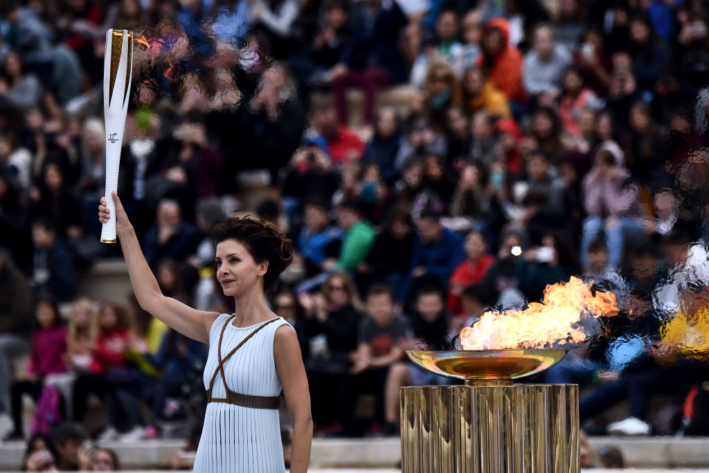 Who started the Olympics, a 3,000-year-old tradition?