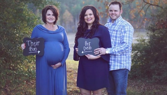 This woman was her own son and daughter-in-law's surrogate, and whoa