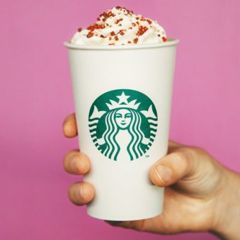 Starbucks is releasing a brand new Valentine's Day drink, and it's the sexiest caffeinated coffee to date