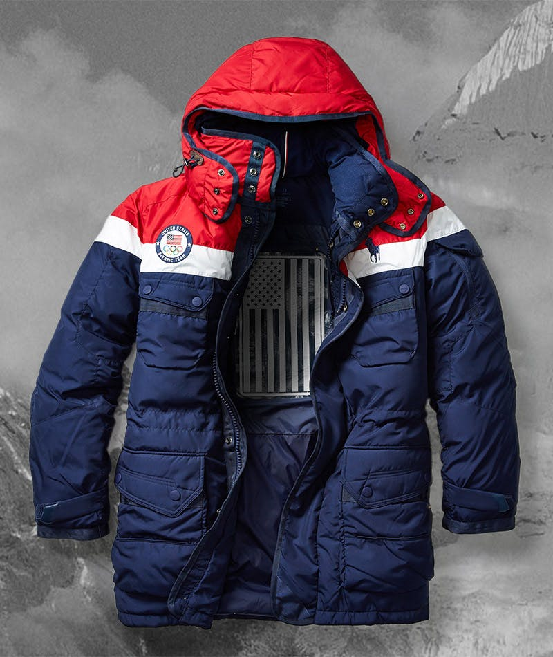 Where can you buy the 2018 U.S. Olympic Team's uniforms