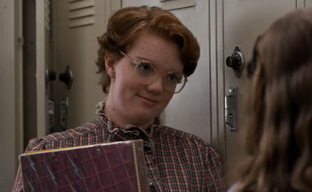 "Shannon Purser found a ""Justice for Barb"" message on her Starbucks cup, because #neverforget"
