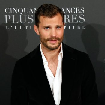 """The more you know: Jamie Dornan wore a """"wee bag"""" while filming """"Fifty Shades Freed"""""""