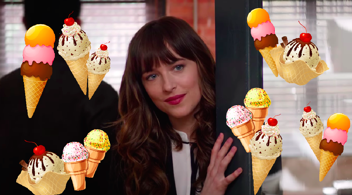 """Fifty Shades Freed"" has an ice cream sex scene, and ice cream should be embarrassed"