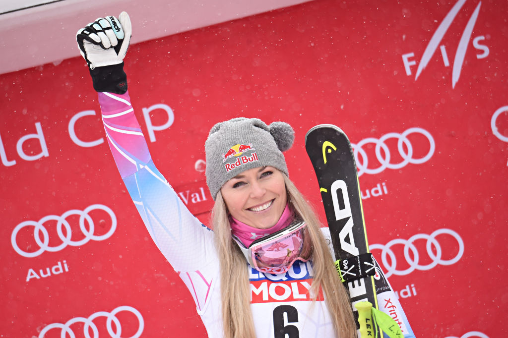 Olympian Lindsey Vonn had a major past injury, but she's back and ready to slay