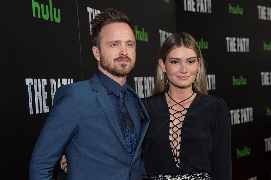 Aaron Paul just became a dad, and the photos of his baby are adorable