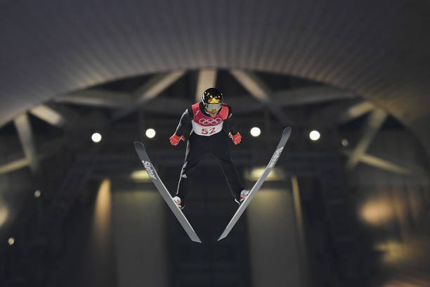 Okay, we know what skiing is — but what's ski jumping about?