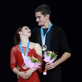 French figure skating partners Marie-Jade Lauriault and Romain Le Gac have SO much chemistry on the ice