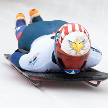 How fast do skeleton racers go? Well, this could get gnarly