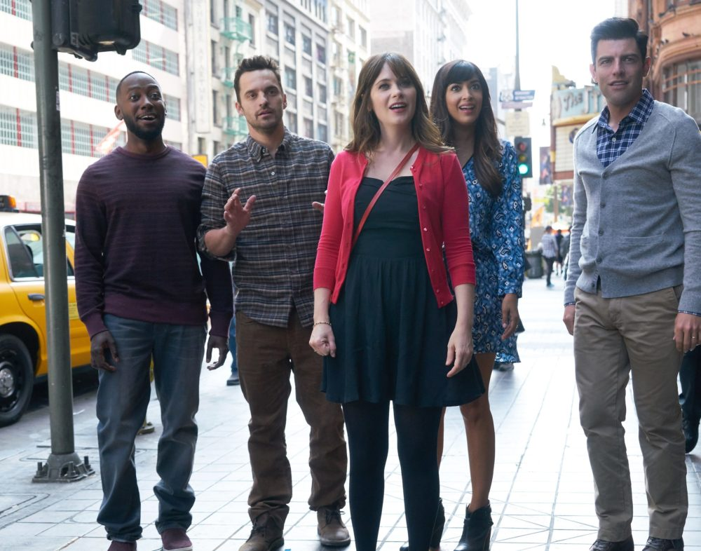 """Zooey Deschanel shared a poster for the final season of """"New Girl,"""" and fans are beyond emotional"""