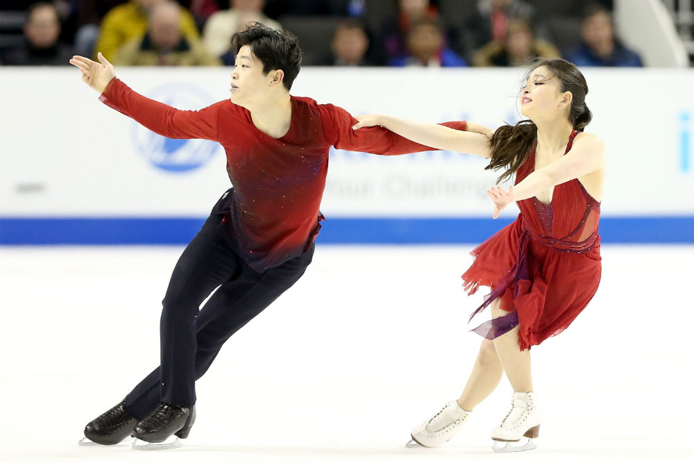 Maia Shibutani and Alex Shibutani are the ShibSibs, a brother-sister figure skating pair