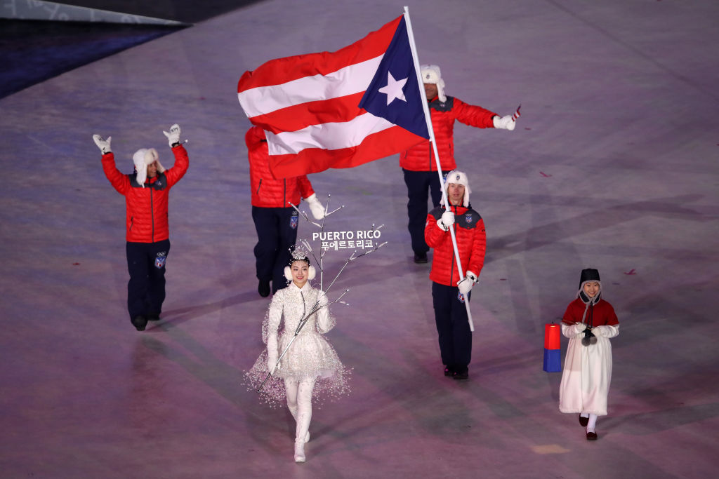Why does Puerto Rico have a separate Olympic team?