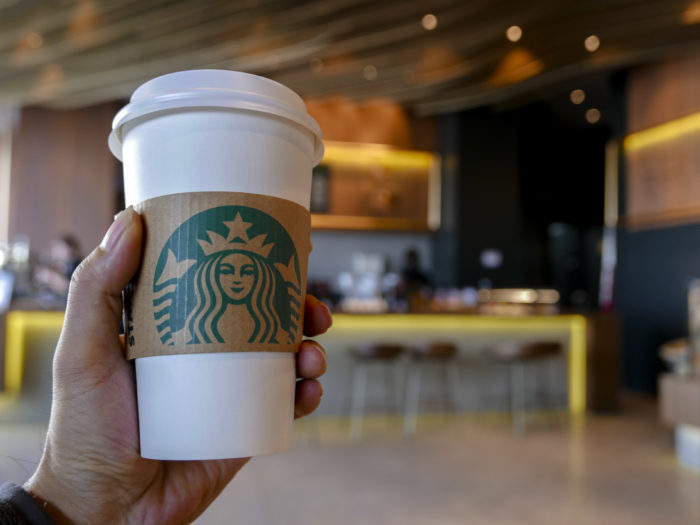 Starbucks sued by family after blood allegedly found in drinks
