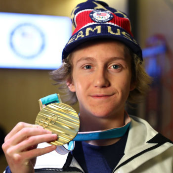 17-year-old Red Gerard just won the first Olympic medal for the U.S., and it's solid gold, baby