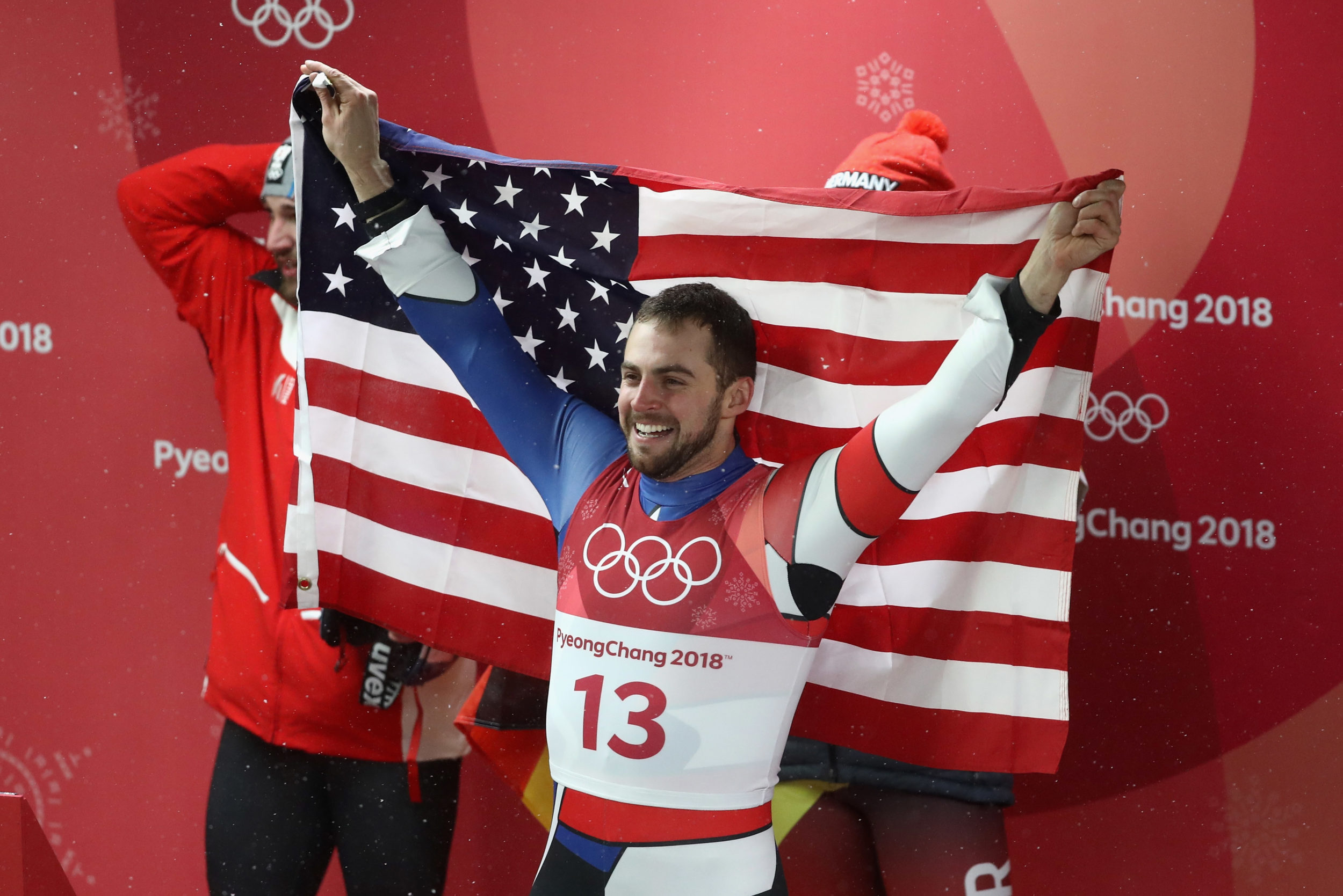 Chris Mazdzer just made U.S. Olympic history with a singles luge medal, and silver looks good on him