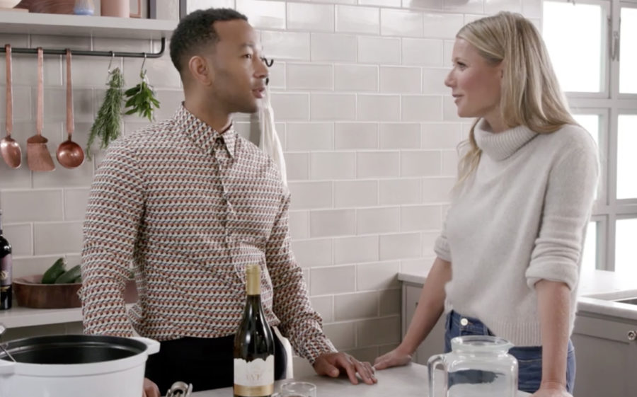 Gwyneth Paltrow and John Legend are the dynamic cooking duo we never knew we needed