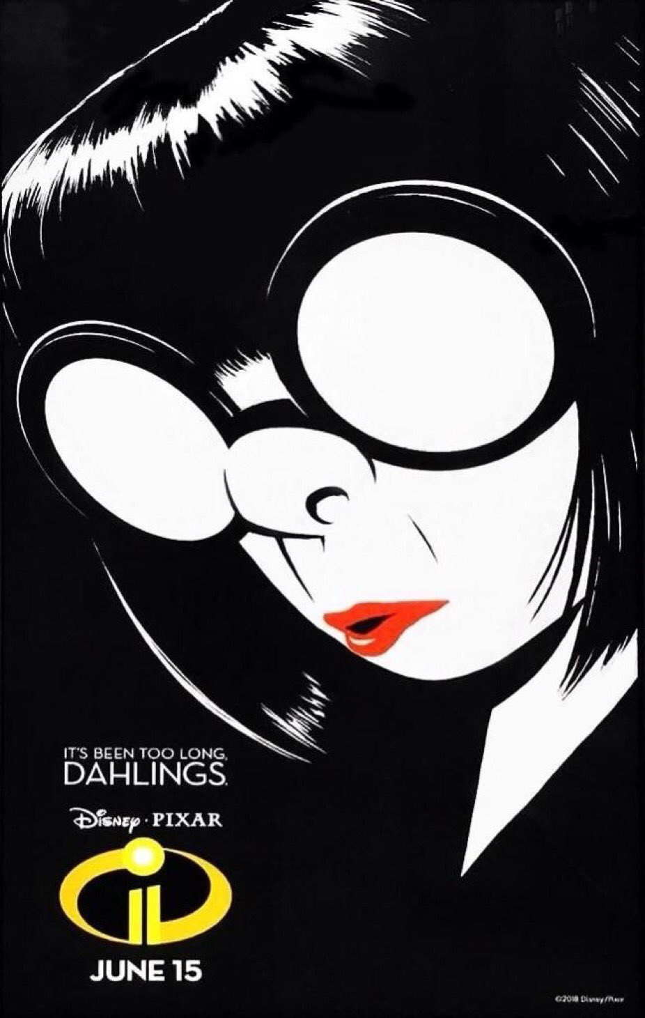latest incredibles poster features the real star of the movie