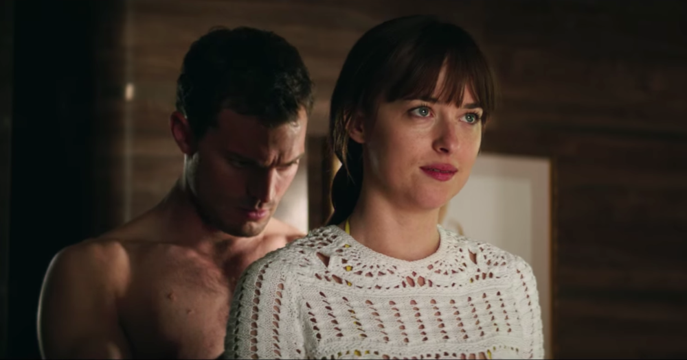 """Fifty Shades Freed"" ends with a non-sexy montage that is making everyone cry"
