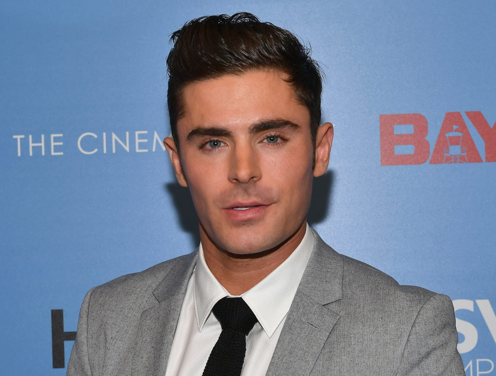 Pictures from another new Zac Efron movie are here, and this is the only time we've found him unattractive