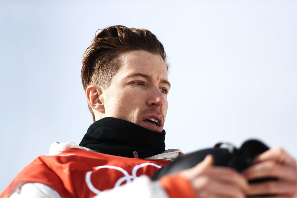 Shaun White just crushed it in the snowboarding qualifying round