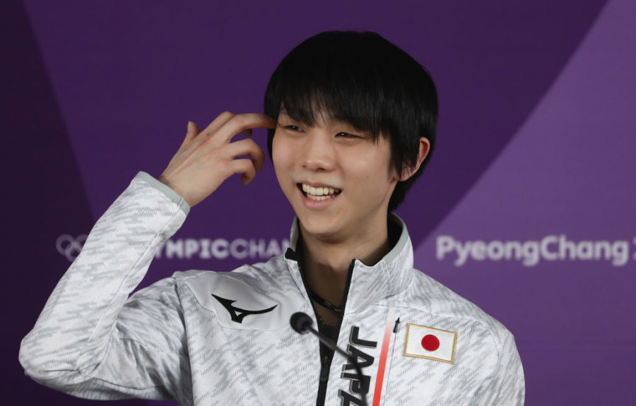How much is Yuzuru Hanyu's net worth, the first male figure skating gold medalist from an Asian country?