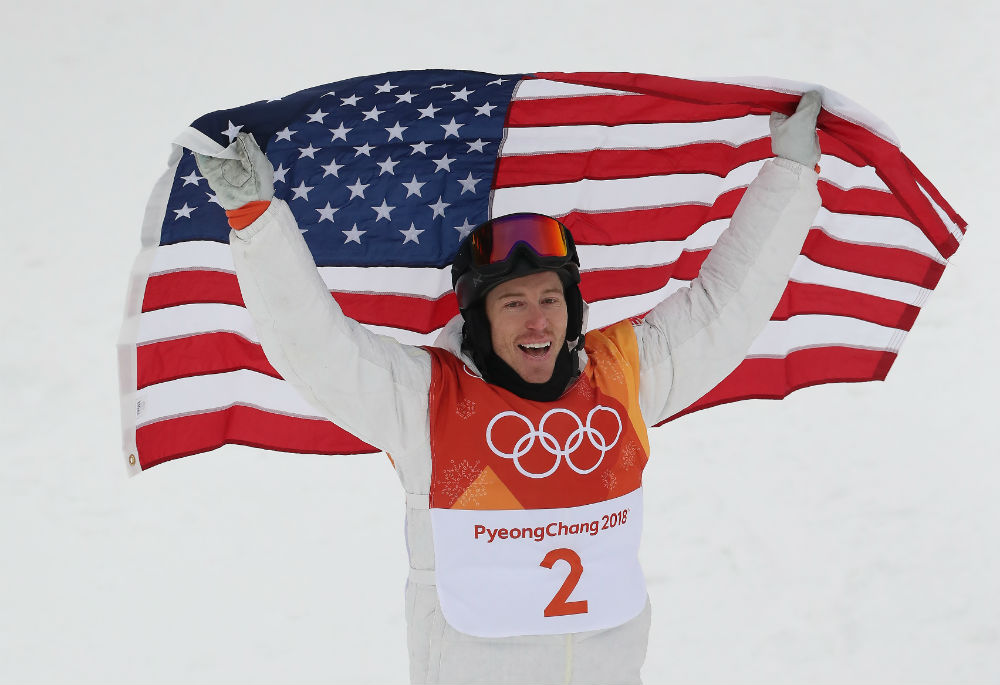 People are really mad that Shaun White dragged the American flag after he won the gold