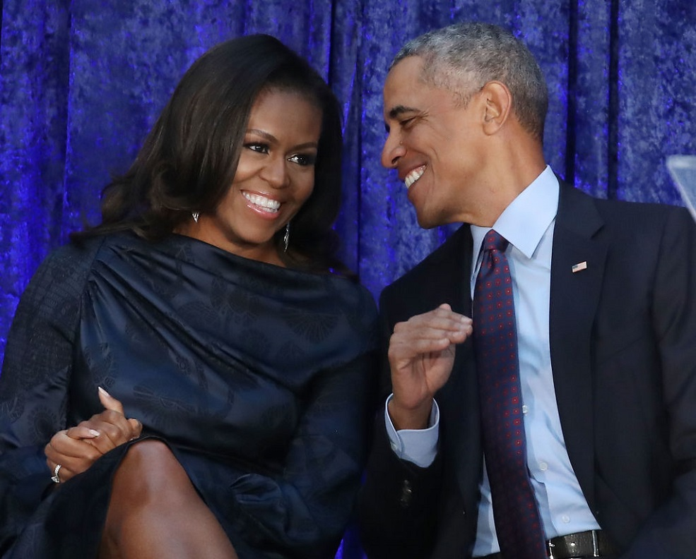 Michelle Obama just posted the most romantic Valentine's Day playlist for Barack