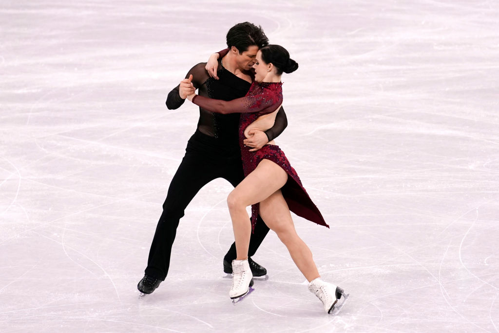 Canadian figure skating pair Tessa Virtue and Scott Moir have unwittingly become a Valentine's Day meme