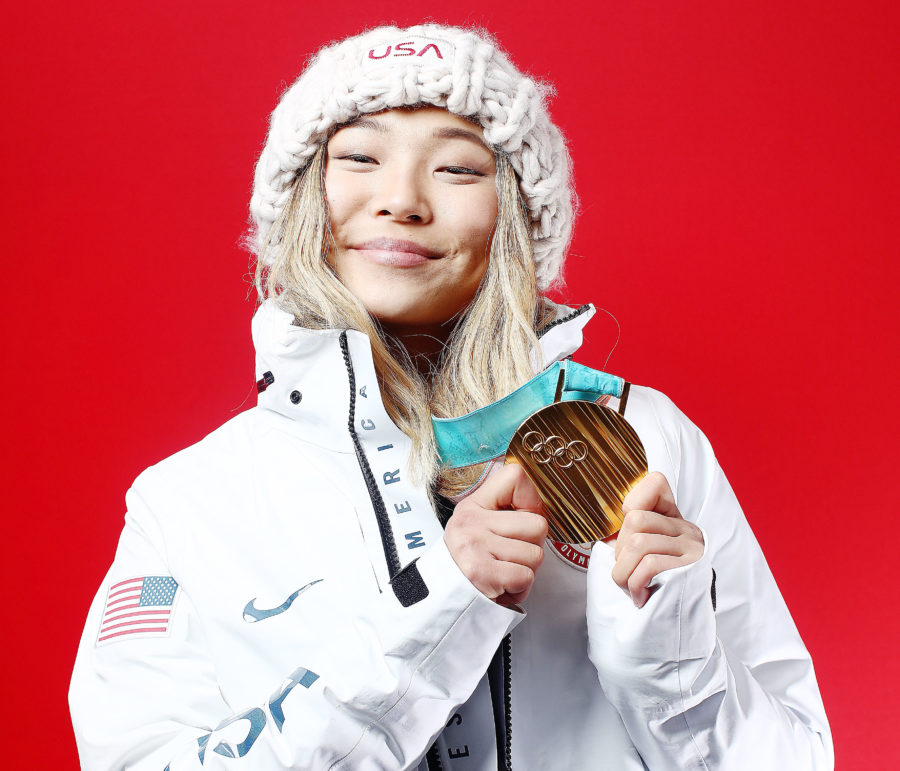 Chloe Kim didn't cry after her Olympic gold medal win because it would've ruined her eyeliner, is all of us
