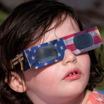 Here's how to safely look at the partial solar eclipse today