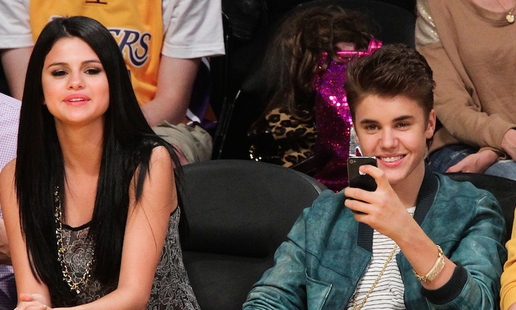 Selena Gomez and Justin Bieber spent Valentine's Day together, and apparently lots of PDA happened